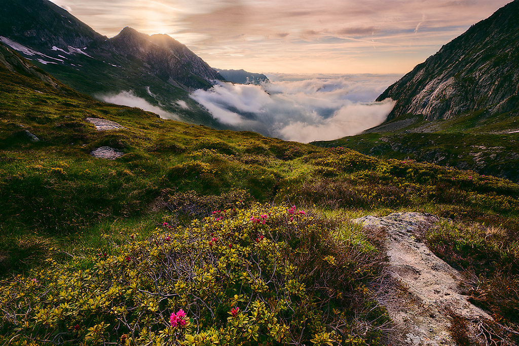 Pyrénées - Mont Vallier