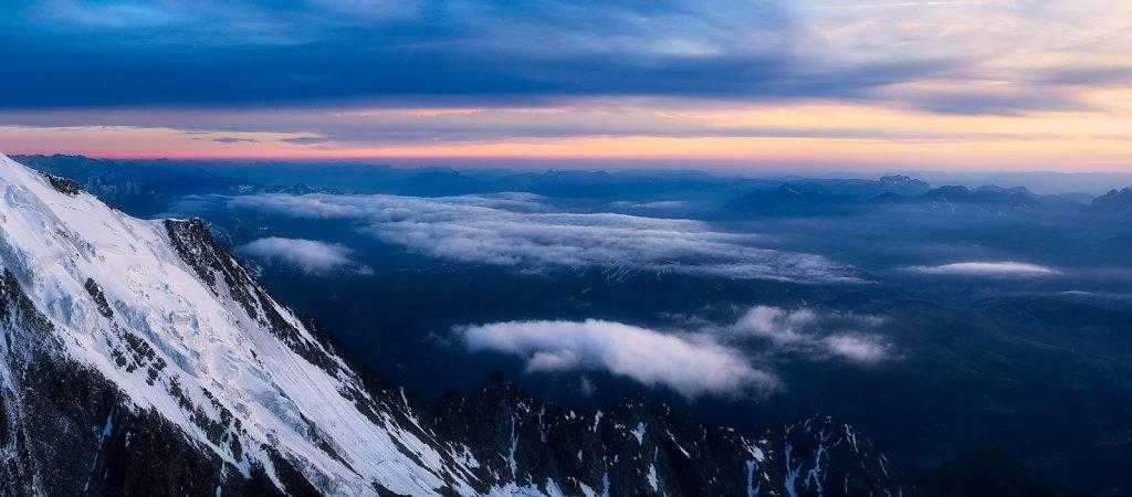 Mont Blanc - Refuge du Goutter
